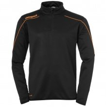 uhlsport Langarmshirt Zip Top Stream 22 2019 schwarz/orange Boys