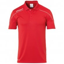 uhlsport Polo Stream 22 2019 rot/weiss Boys