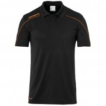 uhlsport Polo Stream 22 2019 schwarz/orange Boys