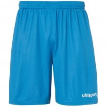 uhlsport Short Basic Center 2019 cyan/weiss Boys