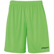 uhlsport Short Basic Center 2019 grün/schwarz Boys
