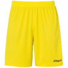 uhlsport Short Basic Center 2019 limonengelb/schwarz Boys