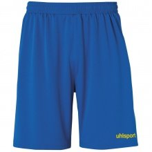 uhlsport Short Basic Center 2019 azurblau/limonengelb Boys
