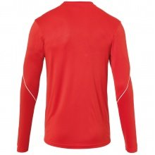uhlsport Langarmshirt Stream 22 2019 rot/weiss Boys