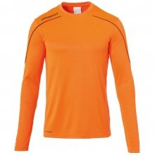 uhlsport Langarmshirt Stream 22 2019 orange/schwarz Boys