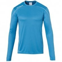 uhlsport Langarmshirt Stream 22 2019 cyan/weiss Boys