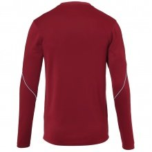 uhlsport Langarmshirt Stream 22 2019 bordeaux/skyblau Boys