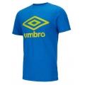 umbro Tshirt Big Logo royalblau/gelb Herren