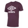 umbro Tshirt Big Logo weinrot Herren