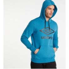 umbro Kapuzenpullover Hoodie Big Logo blau Herren