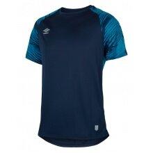 umbro Trainings Tshirt Trikot blau Herren