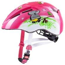 uvex Fahrradhelm Kid 2 Spielplatz Elefant+Frosch pink