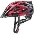 uvex Fahrradhelm i-vo cc rot/schwarz-matt