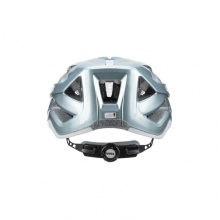 uvex Fahrradhelm active aqua/weiss