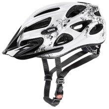 uvex Fahrradhelm onyx weiss