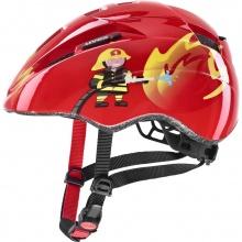 uvex Fahrradhelm Kid 2 Feuerwehrmann rot