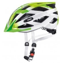 uvex Fahrradhelm Kinder air wing lime/weiss
