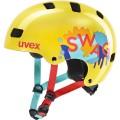 uvex Fahrradhelm Kinder kid 3 gelb