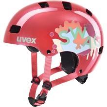 uvex Fahrradhelm Kinder kid 3 korallrot