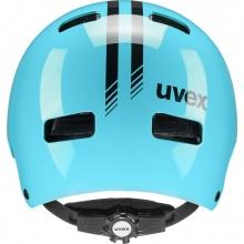 uvex Fahrradhelm Kinder kid 3 Race himmelblau