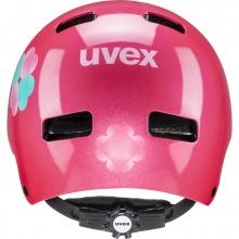 uvex Fahrradhelm Kinder kid 3 Flower pink