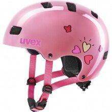 uvex Fahrradhelm Kinder kid 3 Herz pink