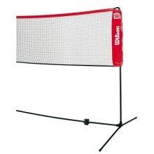 Wilson Tennisnetz Kleinfeld + Badmintonnetz 3 Meter