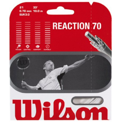 Besaitung mit Wilson Reaction 70