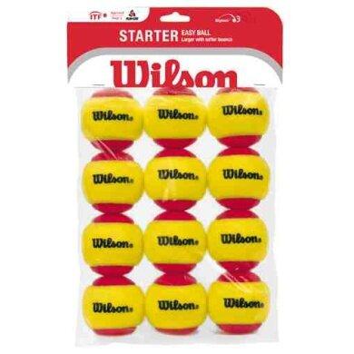 Wilson Stage 3 Starter Red Methodikbälle 12er
