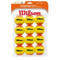 Wilson Methodikbälle Stage 2 Starter gelb/orange 12er Beutel