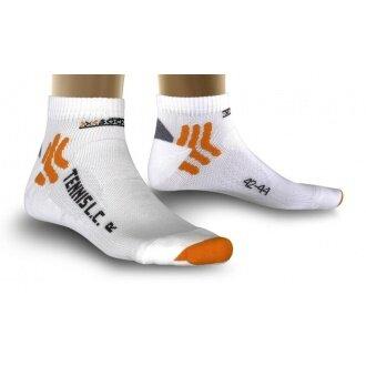 X-Socks Tennissocke Low Cut weiss Herren