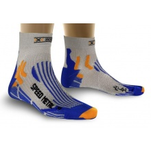 X-Socks Laufsocke Speed Metal blau Herren