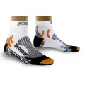 X-Socks Laufsocke Speed One weiss Herren