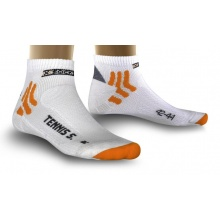 X-Socks Tennissocke Low Cut Silver weiss