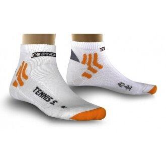 X-Socks Tennissocke Low Cut Silver weiss Herren
