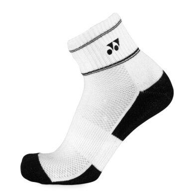 Yonex Socken Ankle weiss/schwarz Herren 3er