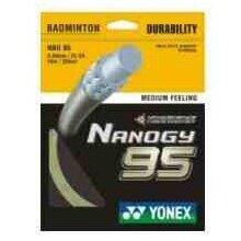 Yonex Nanogy 95 silber Badmintonsaite