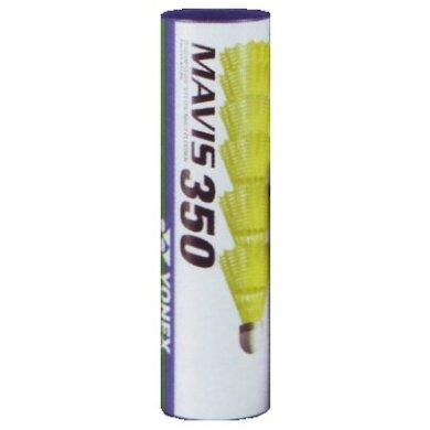 Yonex Mavis 350 Nylonbälle gelb 6er
