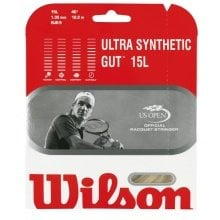 Besaitung mit Wilson Ultra Synthetic Gut
