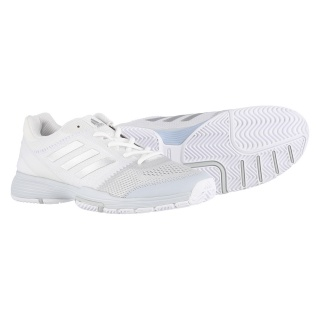 low priced 3943c 2b21d adidas Barricade Club 2017 weiss Tennisschuhe Damen