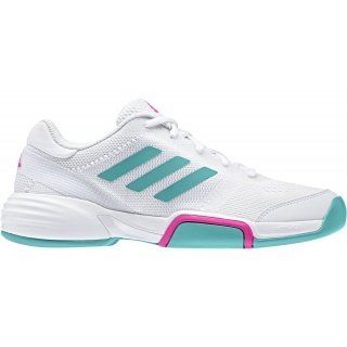 big sale 032c5 f99c7 adidas Barricade Club Carpet 2018 weiss Indoor-Tennisschuhe Damen