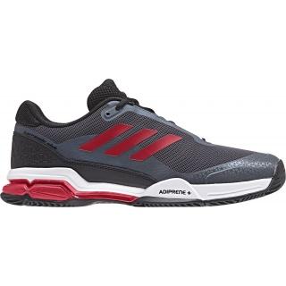 Adidas Barricade Club Allcourt 2018 schwarz Tennisschuhe Herren