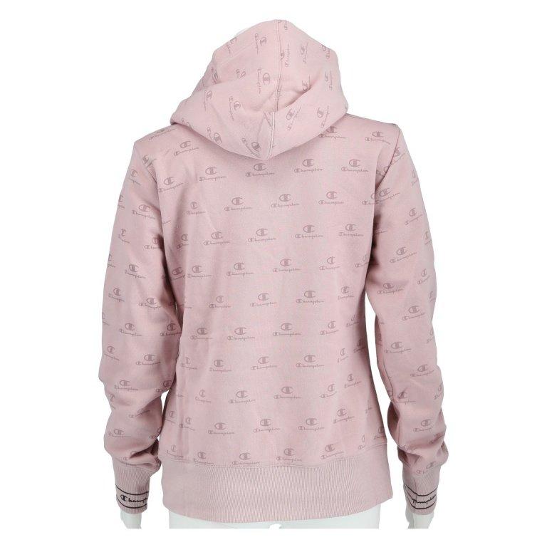 CHAMPION Hoodie mit Logo Muster in Rosé online kaufen