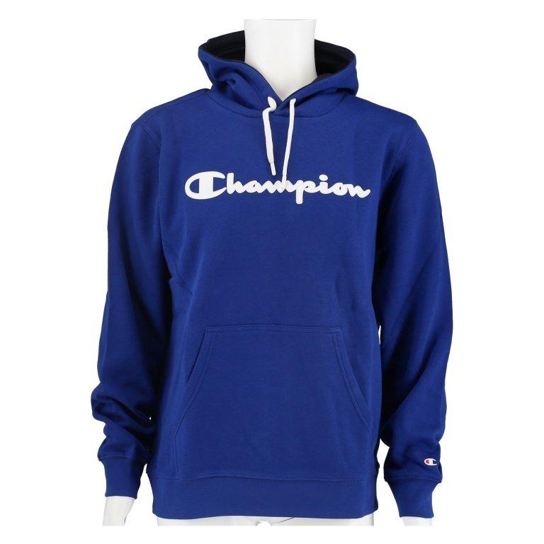 Champion Hoodie Big Logo Print 2019 royalblau Herren