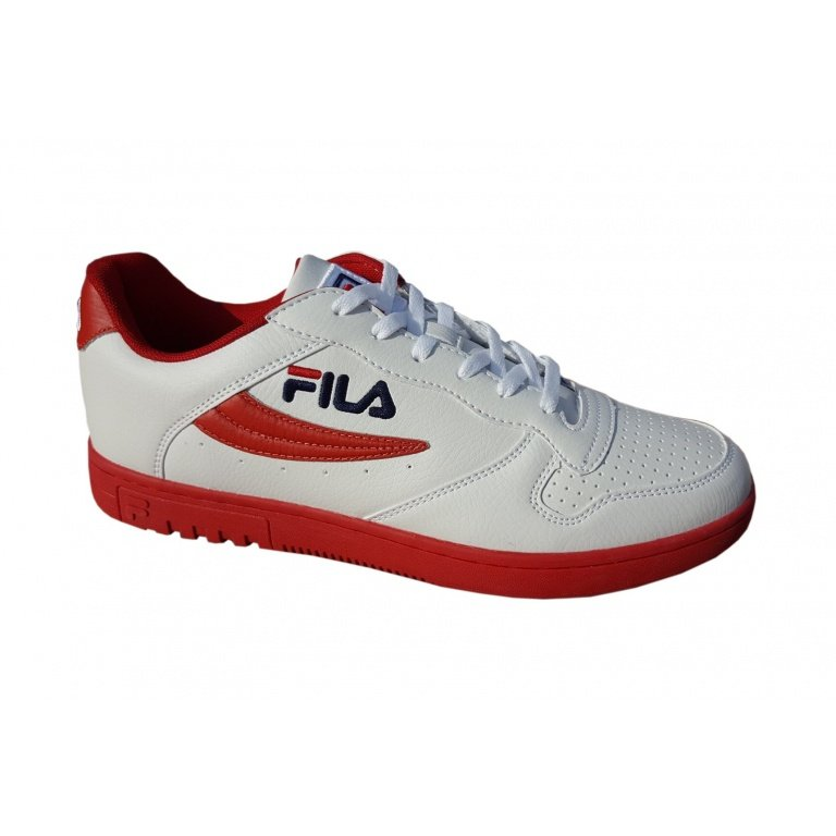 Fila FX 100 Low weissrot Sneaker Herren