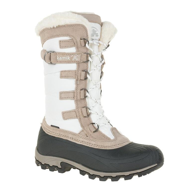 d58ef594459abe Kamik Snowvalley weiss Winterstiefel Damen versandkostenfrei online ...