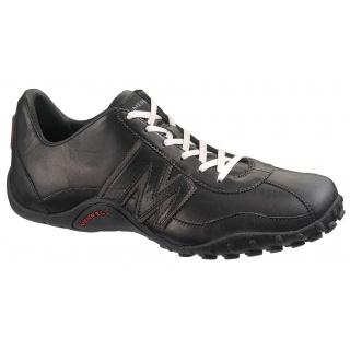 c8e2ed155551f3 Merrell Sprint Blast Leder schwarz Sneaker Herren
