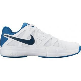 Nike Air Vapor Advantage weiss/blau Tennisschuhe Herren